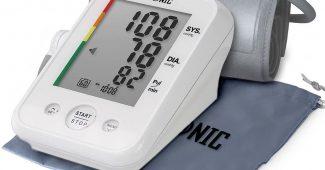 Duronic BPM150 Tensiomètre électronique pour bras avec brassard ajustable 22-42 cm - Mesure automatique de la tension artérielle -...