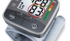 Comment lire un tensiomètre poignet tensoval ?