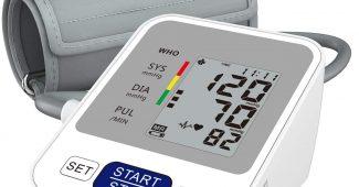 Tensiomètre au Bras Électronique Automatique, Annsky Professionnel Tensiomètre Mesure Automatique de la Pression Artérielle et...
